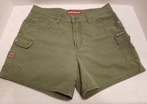 UnionBay Shorts Womens Juniors Light Green Size 9 100% Cotton