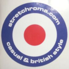 STRETCHROMA .com British Style - Adesivo Sticker Ultras Casuals Mods Skinheads