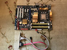 Asus P5Q Intel LGA 775 Core 2 Extreme QX6700 quad core cpu SL9UL motherboard