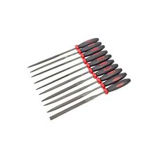 10PC NEEDLE FILE SET METAL GLASS STONE FILING JEWELLER DIAMOND WOOD CARVIN CRAFT