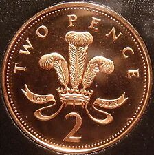 Proof Great Britain 1998 2 Pence~Only 100,000 Minted~Proofs Are Best Coins~Fr/Sh