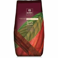 NEW Cacao Barry Extra Brute Cocoa Powder 100% Pure Pressed Chocolate 2.2lb bag