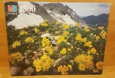 MB York AVALANCHE PASS, CO 1500 Piece Puzzle, 4335-17, 1991, Excellent
