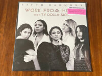 Fifth Harmony and TY Dolla $ign Work From Home Pink Splatter Limited Vinyl LP