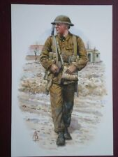 POSTCARD ROYAL NORTHUMBERLAND FUSILIERS FRANCE 1916 CORPORAL