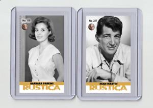 Barbara Parkins rare MH Rustica #'d 2/3 Tobacco card no. 110
