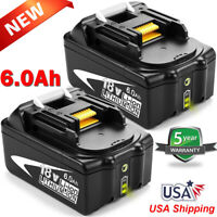 BL1850B-2 For MAKITA 18V LXT 6.0Ah LITHIUM-ION BATTERY BL1860B-2 BL1840B BL1830B