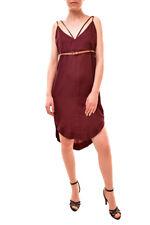 One Teaspoon Women's Braxton Dress Cobaine Cherry Red Size S RRP $96 BCF84