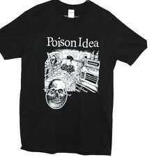 POISON IDEA Punk Rock T shirt Doa Dead Kennedys Fugazi Band Men's Women's Tee