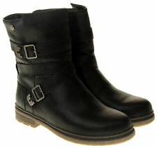 Keddo Womens Ladies Faux Leather Zip Ankle Boots Size 3 4 5 6 7 8