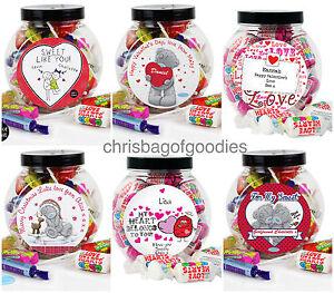 PERSONALISED LOVE Sweet Jar Gifts for Birthdays Christmas Him Her Men Women Jars