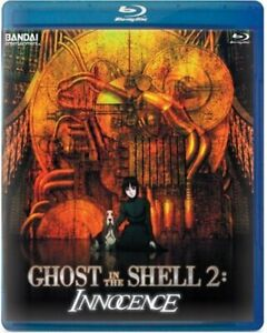 GHOST IN THE SHELL 2 INNOCENCE SCARCE OOP -- NEW BLU-RAY -- I SHIP BOXED