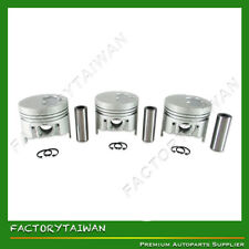Pistons Set STD ISUZU 3LB1 (100% TAIWAN MADE) x 3 PCS