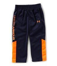 Under Armour Little Boys Brawler 2.0  Pants Color Navy Orange Size 6 NWT