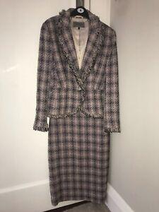 Ladies size 8 Jaegar skirt suit