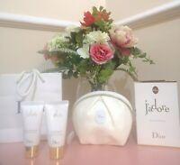 DIOR J'ADORE 1ML EDP, Body Milk+Shower gel 20ml in bag pouch🌺Mini Giftset B NEW