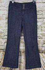 Women's Maurices Jeans Size 1/2 Short Straight Flare Nice Denim Pants