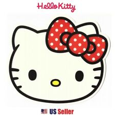 Sanrio Hello Kitty Computer Mouse Pad : Red Ribbon Hello Kitty