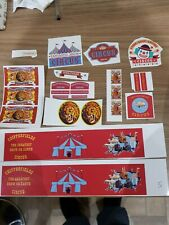 Code  3  Showmans/circus  self  adhesive vinyl stickers   1:50 scale