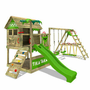 FATMOOSE TikaTaka Town XXL SurfSwing Climbing Frame kids garden playground