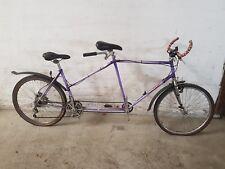 Vélo tandem bicyclette cycles TILLY vintage dans son jus à restaurer
