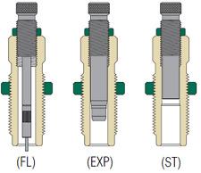 Redding 351 Winchester Self Loading-Set FL 3 Die  [80462]