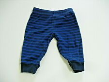 CHILD OF MINE 0-3 MONTHS  BOYS BLUE STRIPED PANTS (GENTLY PREOWNED)