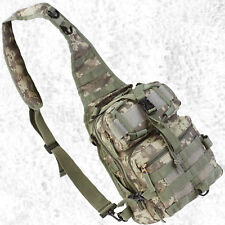 Small Digital Camo Sling Backpack Day Pack Hiking Hunting Military Tactical Bag