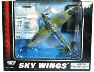 Motormax Skywings - Hurricane - RAF Fighter Command  - Diecast WW2 Aircraft Toy