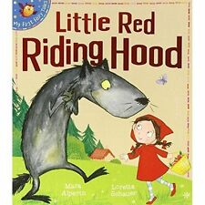 Little Red Riding Hood My First Fairy Tales Children's Picture Book RRP £6.99