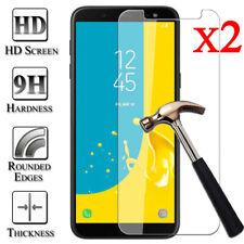 2X Tempered Glass Screen Protector For Samsung Galaxy J3 J5 J7 Pro J4 J6 J8 Plus