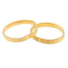 Ärmelhalter 2 Paare Teddy Anhänger  silber goldfarbig Stretch Armband Schmuck