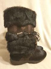 """OLANG """"EVA""""  echt Fell Boots braun  innen Wolle gr.38 neuwertig, einmal getragen"""