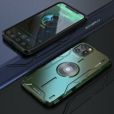Case For iPhone 11 Pro Max 11 XS Max XR XS X Heavy Duty Metal Shell Luxury Cover
