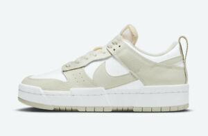 Women's Nike Dunk Disrupt Sea Glass Green Sail Off White Pink DM3063-100 Retro