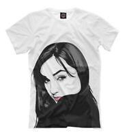 Sasha Grey pixel t-shirt American pornographic actress porn star print pornstar