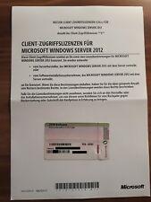 Microsoft Windows Server 2012 R2 USER / Benutzer / Nutzer 5 Cal Lizenz
