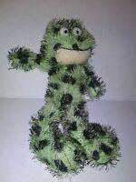 "GANZ Toad Marionette Green  12"" Plush Stuffed Animal"