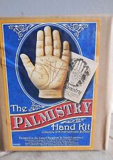 PALMISTRY HAND KIT BOOKLET TEACH FORTUNE HEALTH ASTROLOGY PAPER WEIGHT  CAT ResQ