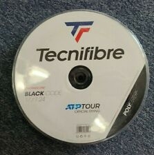 Tecnifibre Black Code 17 Gauge 1.25mm 660' 200m Tennis String Reel Black