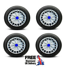 "16"" WHEEL TRIMS FOR FORD GALAXY / S MAX / C MAX / B MAX SET OF 4 HUB CAPS"