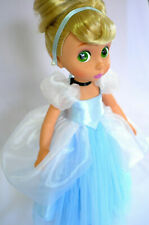 Classic Blue ball gown for Disney animator doll 16""