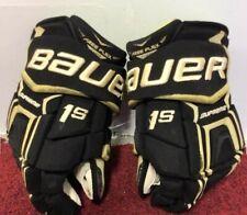 """Bauer 1s hockey gloves 13"""" Western Michigan"""