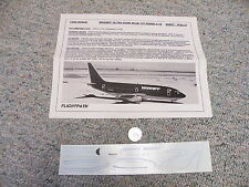 Flight Path decals 1/200 FP20-57 Braniff Ultra dark blue 737-200 DC-9-10  A24