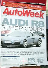 AUTOWEEK APR 10,2006 AUDI R8;FERRARI;JAGUAR SKR;SATURN
