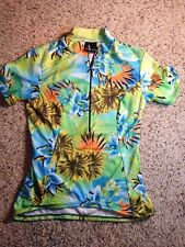 WOMAN'S CYCLING SHIRT - SHEBEEST - SIZE SMALL -   - 1/2  ZIP - BACK POCKETS. Ked