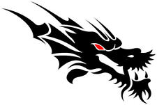 Tribal Dragon Head Decal,Sticker Graphic,Car, window,