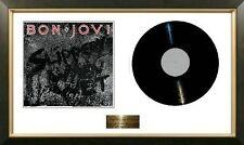 Bon Jovi / Limited Edition / Framed Album / Slippery When Wet