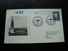 SUEDE - carte 1/4/1964 (norrkoping/turku) (cy23) sweden