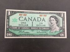 1967 $1 DOLLAR CENTENNIAL BANK OF CANADIAN CONFEDERATION